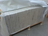 White marble tiles packing